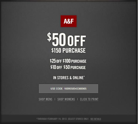 abercrombie coupon